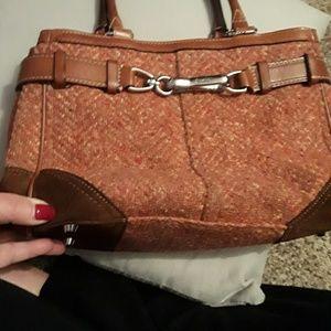 Vintage coach hand bag